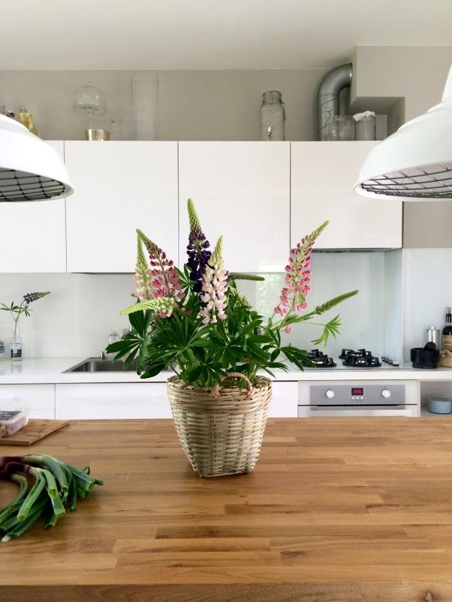 valkoinen keittiö, tammisaareke