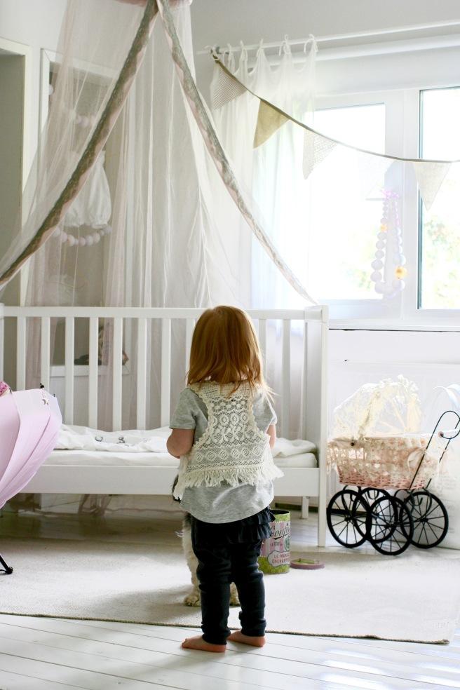 romanttinen lastenhuone