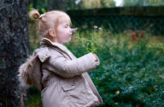 kaksivuotias tyttö