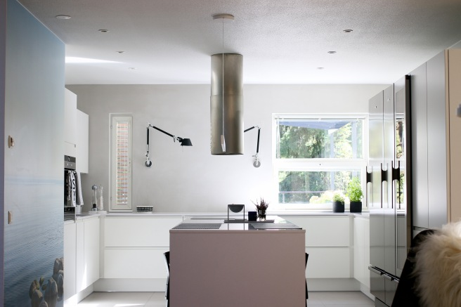 Moderni keittiö