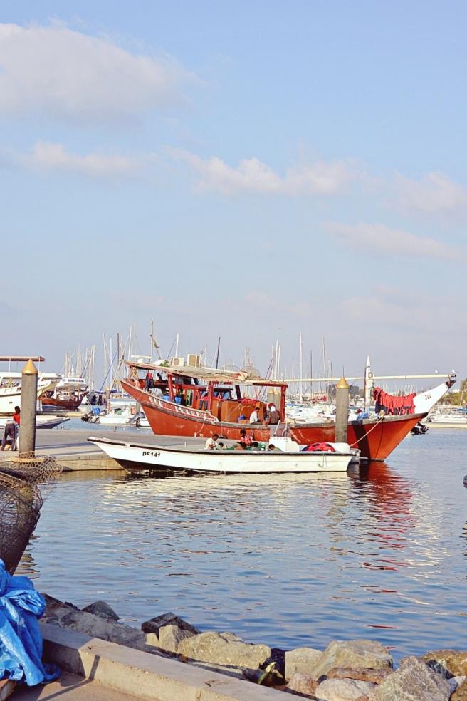 Kalastajia Dubaissa