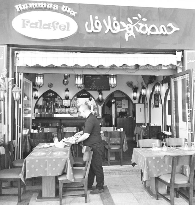 ruokamatka dubaissa, emirate food tour