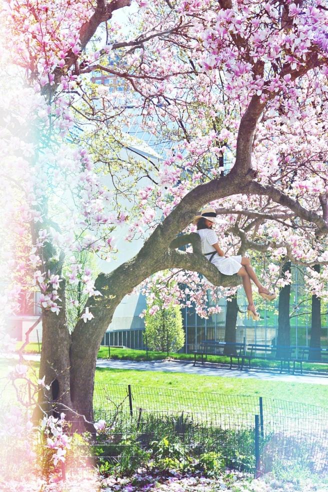 New york keväällä
