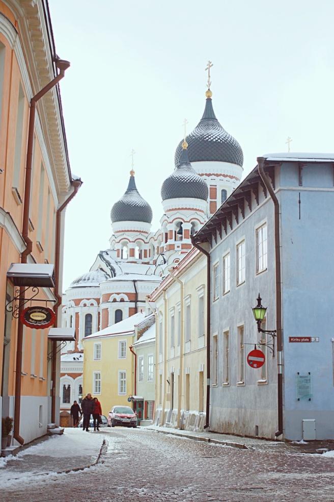 Tallinnassa valokuvaamassa