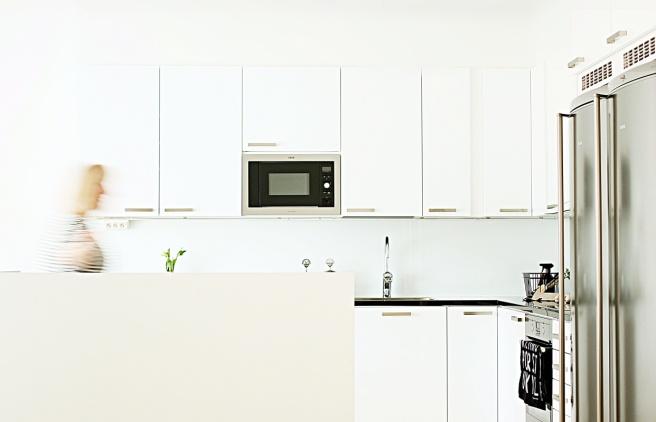 keittiö, valkoinen