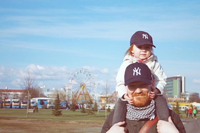 Isä ja lapsikuva