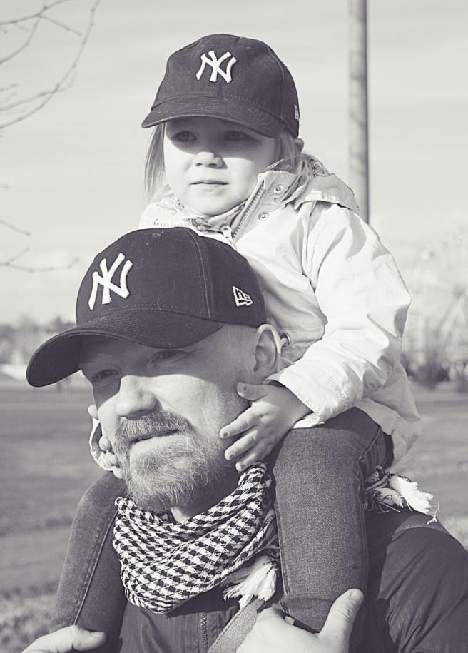 isä ja tyttö