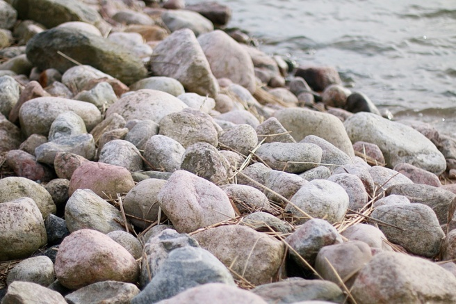 kivet, luonto, meri