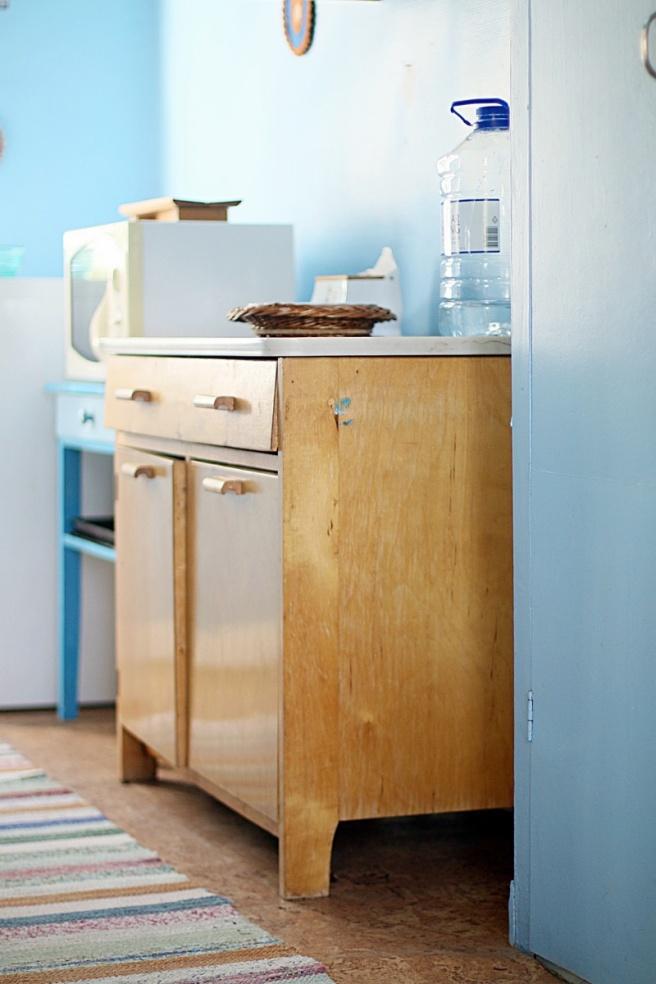 50-luvun keittiö mökillä