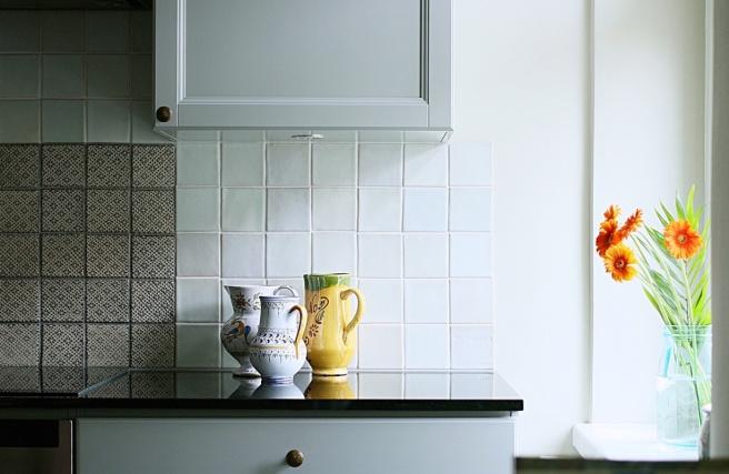 kivitaso keittiössä