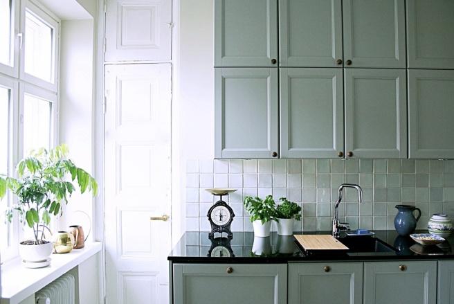 kaunis keittiö jugend talossa