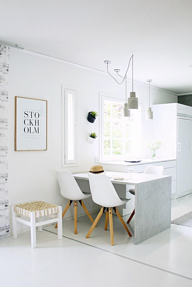 betonia keittiössä