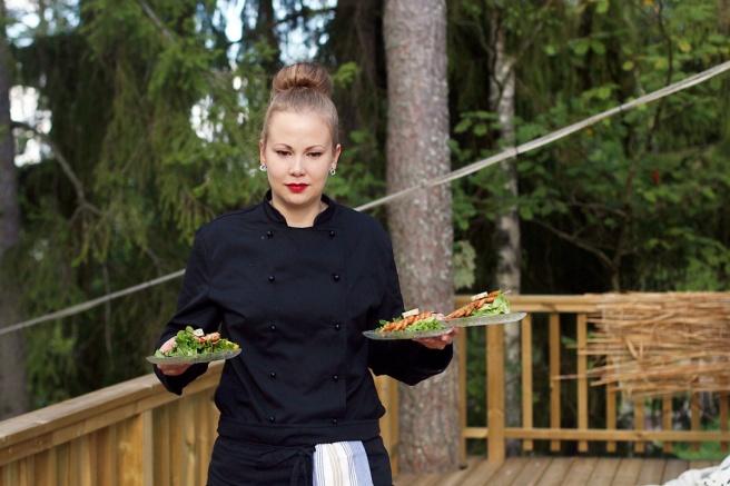 Herkkukasari -kokki kotiin -palvelu