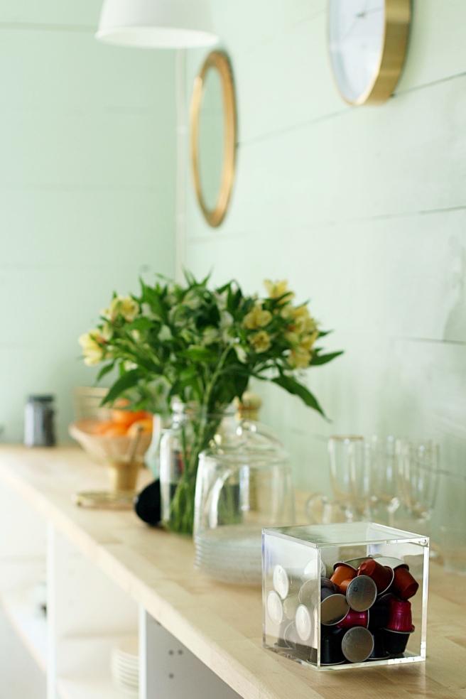 nespresso, mökki-keittiö