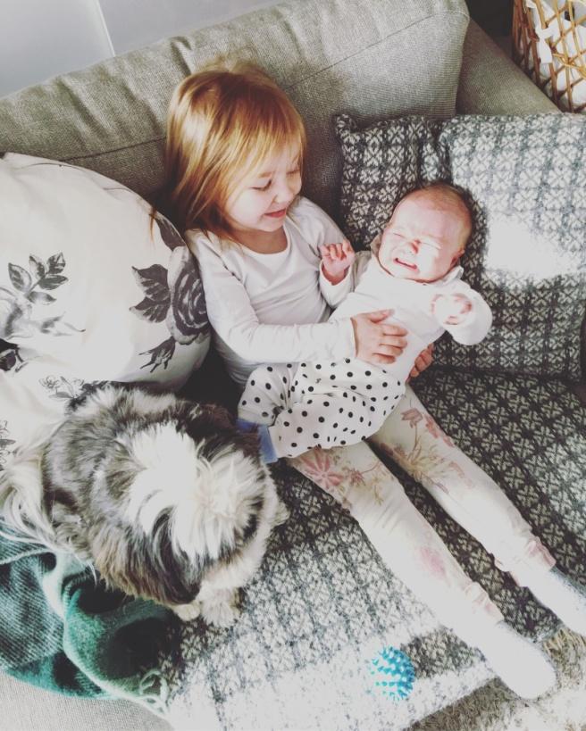 miniporkkana ja vauva
