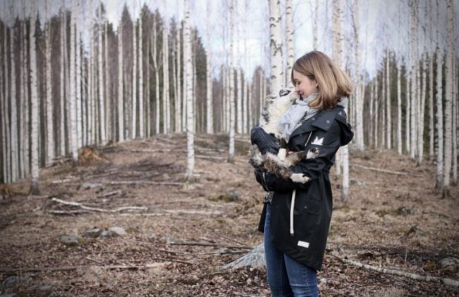 malli ja eläin miljöökuvaus