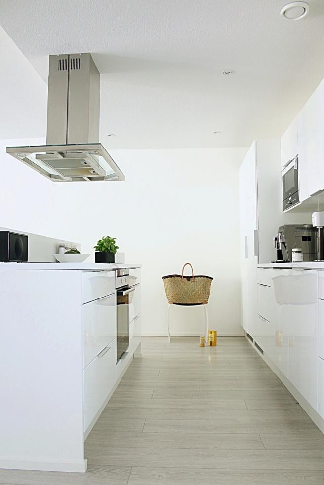 keittiö valkoinen