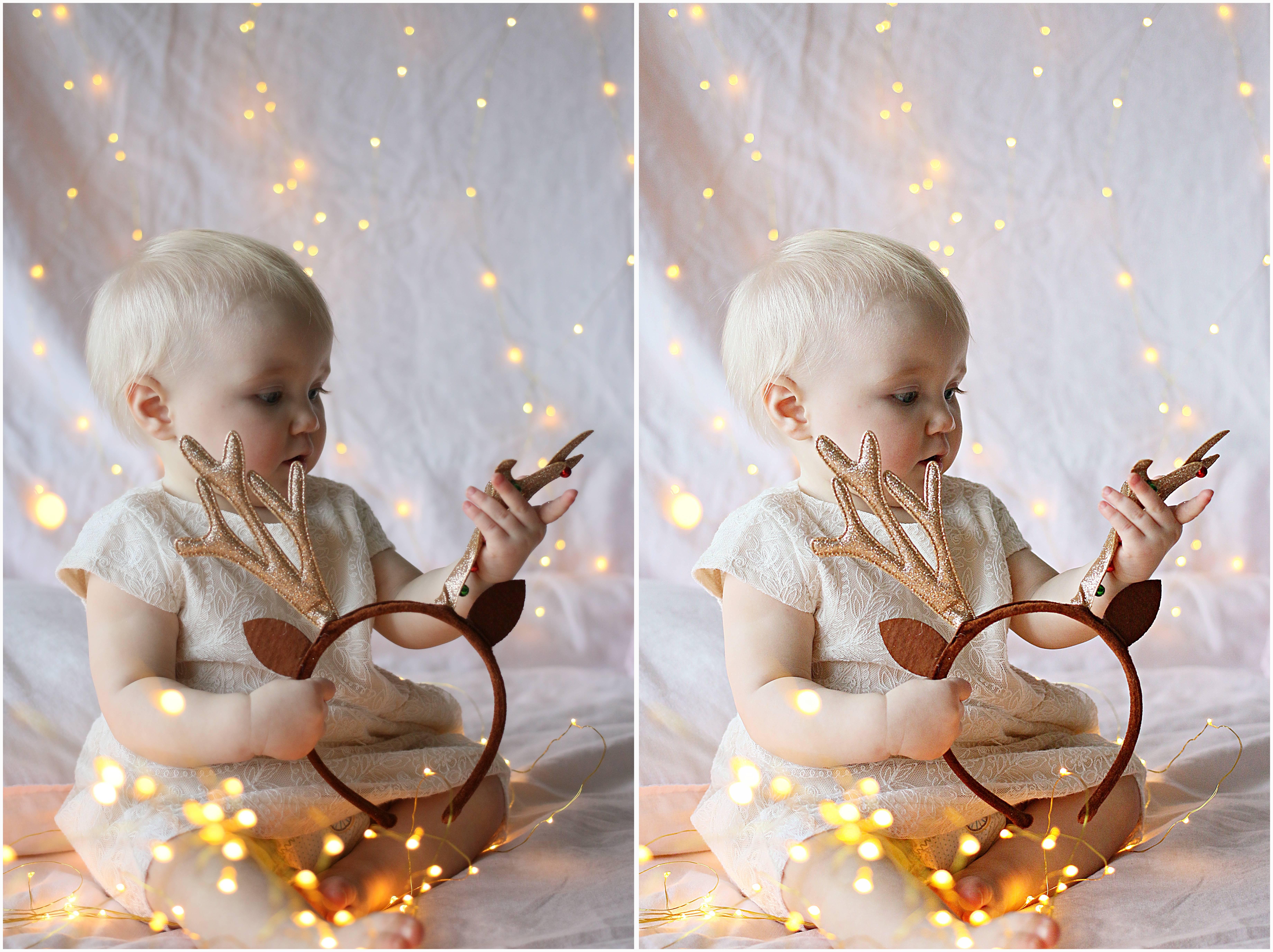 joulukorttikuva lapsesta, vinkit